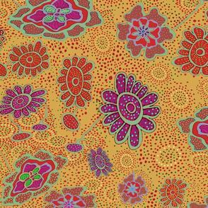 Art Nouveau Flowers on Drugs