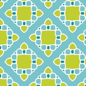 Mosaic Chartreuse
