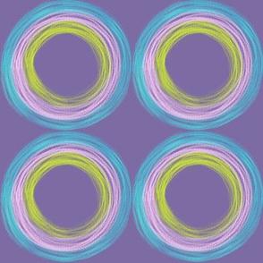 Roller Wheels Circles by Kimberhew