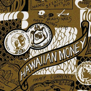 Antique Hawaiian Money 1d