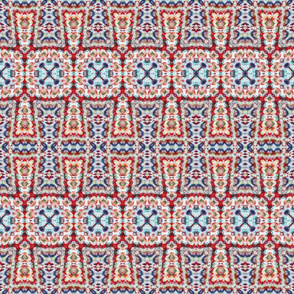Soft Lace Linked Crosses