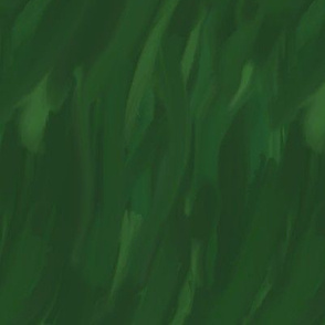 Green Abstract Painterly Strokes