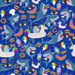 Shark Snackers - Spam Musubi, Poi Donuts, etc