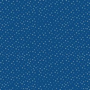Classic Blue Blender Dots ©Claudette MacLean