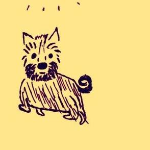 Terrier (yellow)