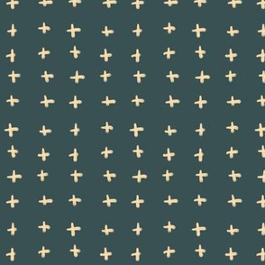 Teal Stitches