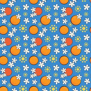 Orange Blossom Pop medium scale