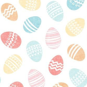 Easter eggs - pastel - LAD20