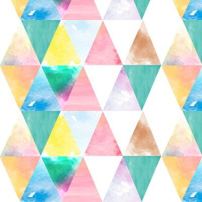 Watercolor Texture - Banana Split