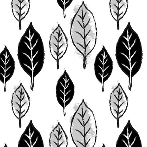 Charcoal Leaves
