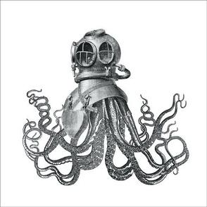 """10""""x10"""" Deep Sea Diver"""