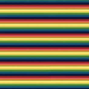 Rainbow Serape Stripes