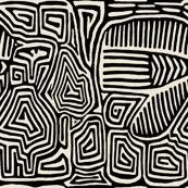 Kuna Pajaro - 27x27 Black Ivory