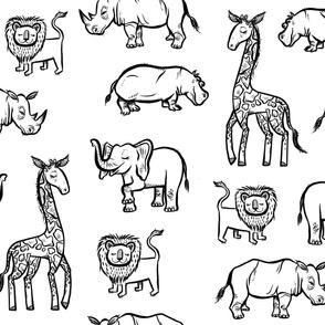 Ink Safari - Extra Large Scale