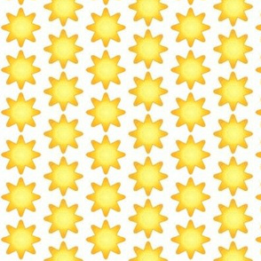 Yellow Star Yellow Light