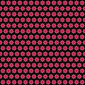 Chain of Pink Flowers