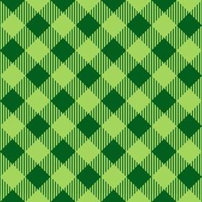 Green/Green Buffalo Plaid