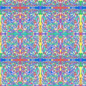 SCRAMBLED COLORS SMALL-MIRROR