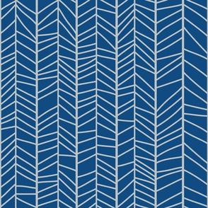 herringbone classic blue