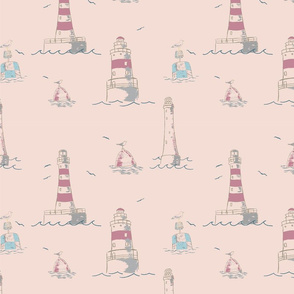 AAS_pink_lighthouses_seamless_stock