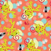 Rainforest-frogs