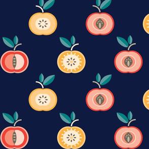 Color Apples Pattern