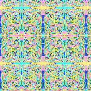 SCRAMBLED COLORS PLAID NOUVEAU CV2 SMALL-MIRROR