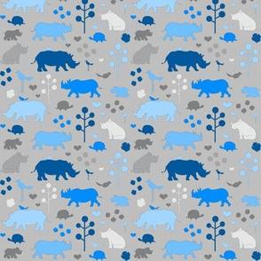 Small Rhino and Friends