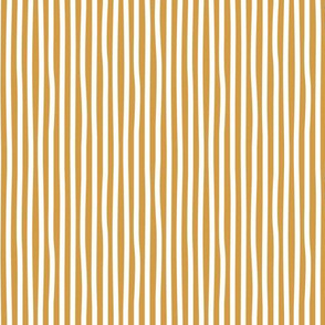 Bumblebee love stripes minimal basic strokes shape ochre yellow white SMALL