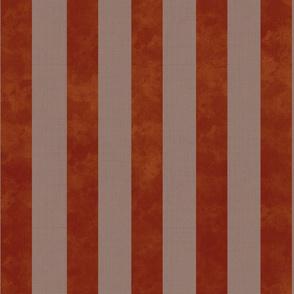 modern vintage - textured striped,  red
