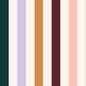 French Bistro Stripes - Caramel