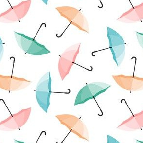umbrellas - multi spring  - lad20