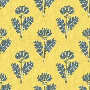 Art nouveau – chrysanthemum