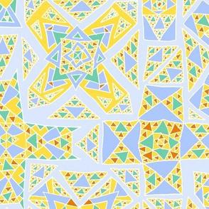 Triangular Crosses