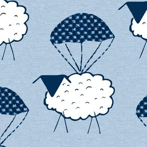 Parachuting Sheep