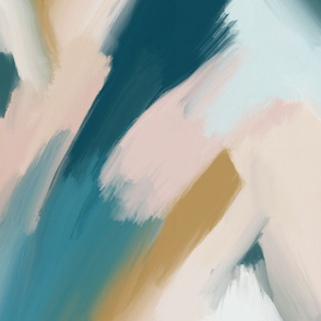 blurred abstract paintscape