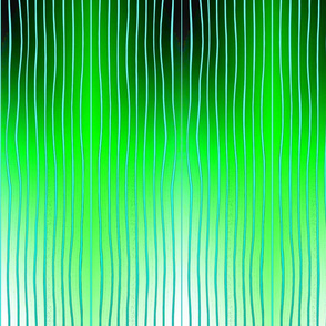 lines in green and black