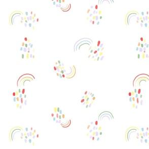 Rainy with Rainbows