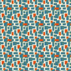 Don't Be Square 4in- Orange