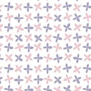 pink + purple petals