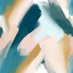 blurred abstract paintscape - XL size
