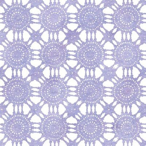 purple lace watercolor tablecloth