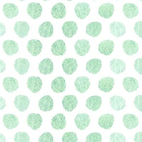 green chestnut polkadots