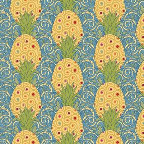 ArtNouveau-pineapple