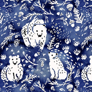 Bears blue