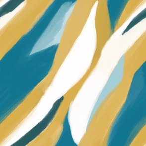 Coursing Abstract Landscape
