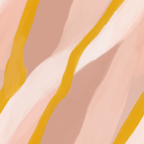 ribbon abstract landscape