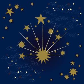 Art Deco Stars