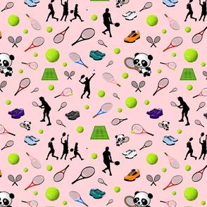 Anyone for Tennis? #1 - coral pink, medium