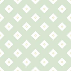 Geometric green&yellow_135